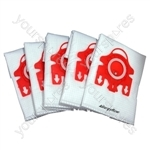 Miele Vacuum Cleaner Dust Bags Type FJM x 5 + 2 Filters