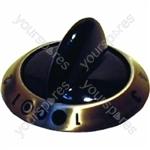 Tricity Bendix Dual Hob Control knob (Black)