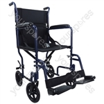 Aidapt Aluminium Compact Transport Wheelchair