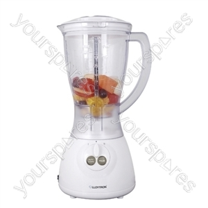 KitchenPerfected 400w 1.5Ltr Table Blender - White