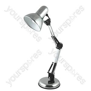 35w 'Style Poise' Hobby Desk Lamp - Polished Chrome