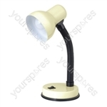 35w 'Mini Classic' Small Flexi Desk Lamp - Cream
