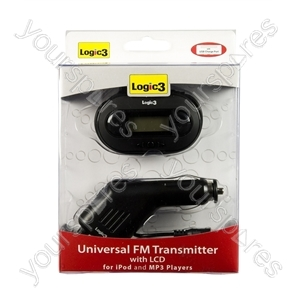 Universal FM Transmitter with LCD