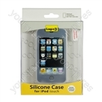 iPod Touch 2g- Silicone Case & Scrn Prot