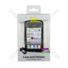 iPhone4 Holster-stand Scr Prot & Case