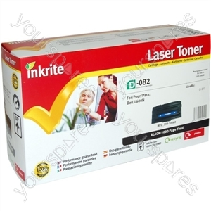 Inkrite Laser Toner Cartridge compatible with Dell 1600n Black