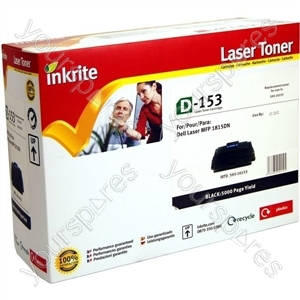 Inkrite Laser Toner Cartridge compatible with Dell 1815 Black (Hi-Cap)