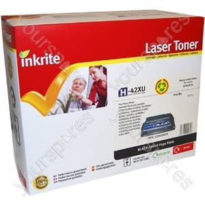 Inkrite Laser Toner Cartridge compatible with HP Q1338A/1339A/5942A/5945A Hi-Yield Black