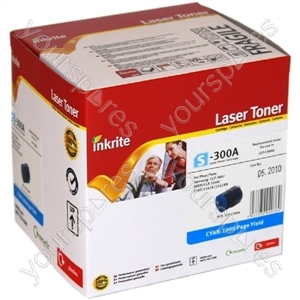 Inkrite Laser Toner Cartridge compatible with Samsung CLP 300/CLX 3160/216x Cyan