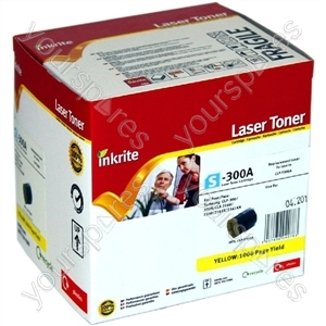 Inkrite Laser Toner Cartridge compatible with Samsung CLP 300/CLX3160/216x Yellow