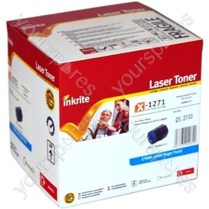 Inkrite Laser Toner Cartridge compatible with Xerox Phaser 6110 Cyan