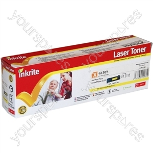 Inkrite Laser Toner Cartridge compatible with Xerox Phaser 6130 Yellow