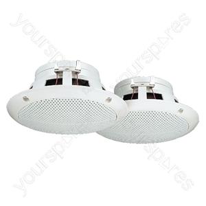 Loudspeaker Pair - Pair Of Flush-mount Speakers