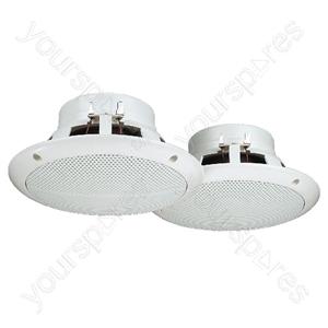 Loudspeaker Pair - Pairs Of Flush-mount Speakers