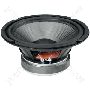 HiFi Woofer with Twin Coil - Hi-fi Bass Speaker And Subwoofer, 2 x 100 w, 2 x 8 ω