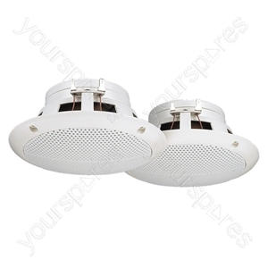 Marine Loudspeaker - Pairs Of Flush-mount Speakers
