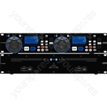 Dual CD Player - Dual Dj Cd And Mp3 Player