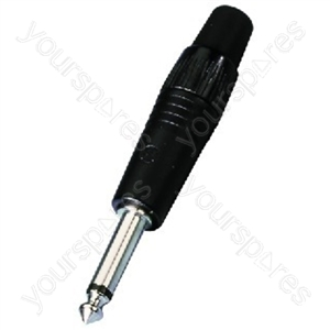 6.3mm Mono Plug - Neutrik 6.3mm Plugs
