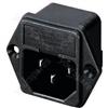 Chassis Mounting Plug - Panel Plug