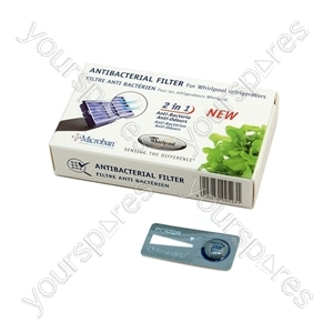 Whirlpool Refrigerator Anti Bacterial Filter