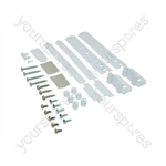 Whirlpool White Decor Refrigerator Door Fixing Kit