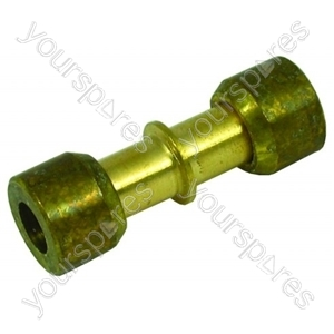 Alternative Manufacturer Lokring brass connector 6mm Spares