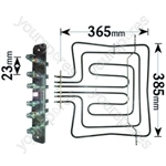 Hotpoint Triple Grill/Oven Element