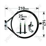 Hotpoint Fan Oven Element 2400w