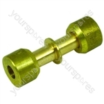 Alternative Manufacturer Lokring brass connector 5mm Spares