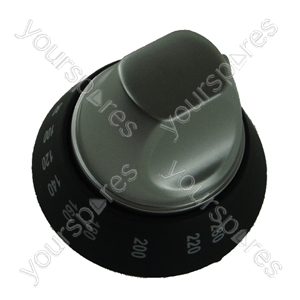 Cannon Silver Fan Oven Knob Assembly