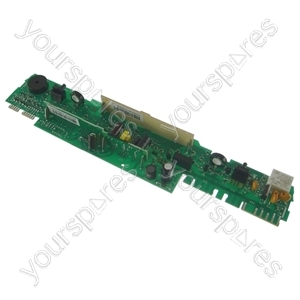 Control module entry segment indesit