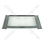 Oven Door Glass Top Ultima Graphite