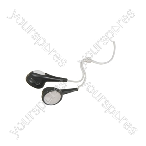 Stereo Jelly Earphones - Black EJ9B