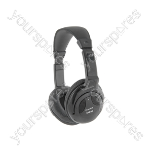 SHB40 Stereo Hi-Fi Headphones - Black