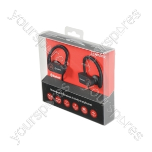 Waterproof Wireless Bluetooth® In-ear Activity Headphones - IPX7 - SBH03