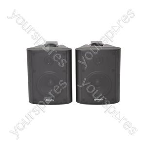 "BC Series Stereo Background Speakers - BC4-B 4"" speaker, Black"