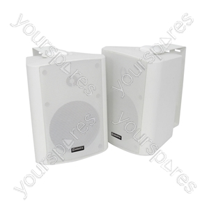 BC Series Stereo Background Speakers - BC5W 5.25inch White Pair - BC5-W