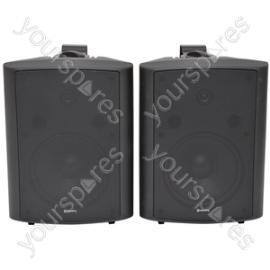 BC Series Stereo Background Speakers - BC8B 8inch Black Pair - BC8-B