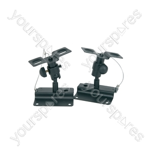 Adjustable Speaker Brackets - - with ball joint in all directions