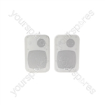 Stereo Background Speakers - 30W white - pair - B30-W