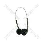 SH27 Lightweight Stereo Headphones