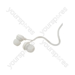 Mini Round In-ear Earphones - EM9W