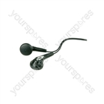 Stereo Earphones - 10pcs - SE15R Earphones, Display Card
