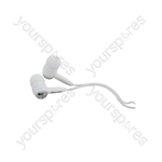 In-ear Stereo Earphones - earphones, Silver, EC9S