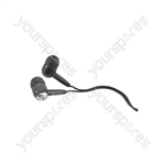 In-ear Stereo Earphones - earphones, Black, EC9B