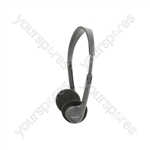SH30 Lightweight Stereo Headphones - Headphones