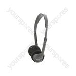 SH30 Lightweight Stereo Headphones.