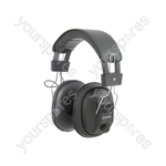 MSH40 Mono/Stereo Headphones with Volume Control - MSH40