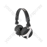 Stereo Headphones - QX40W White