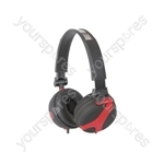 QX40 Stereo Headphones - QX40R Red